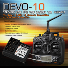 DEVO-10 Radio+RX1002 receiver